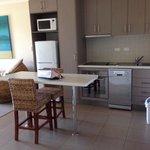 Kitchen in apartment 3