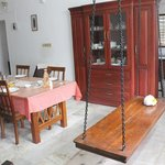 Family dining room on ground floor where we had our breakfasts and meals