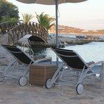 our private beach!