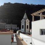 Vista do terraço para a Igreja
