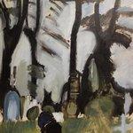 H. Giersing: Svanninge kirkegård, sorte stammer