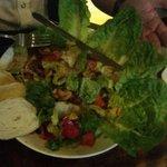 Salad at mulligan's overtime