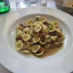 My  dish of orecchiette
