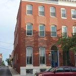 Blue Door on Baltimore Foto