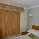 Curtains retro