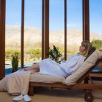 Relaxation Areas in the Spa - with mountain views