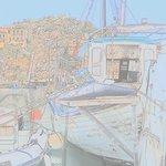 Barca e panorama