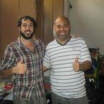 David and Ignacio the hosts