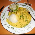 Poisson au curry