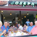 Bill,Rita,Brian&Alan at Joseph's June 2014