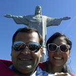 Photo of Cristo Redentor (Statue of Christ the Redeemer) taken with TripAdvisor City Guides