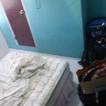 Bedroom ,, (brown door is for bathroom - steep level)