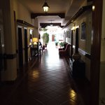 Pasillos del hotel