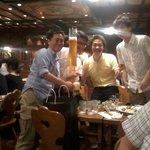 Essayez une beer-tower de trois litres