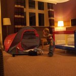 Our little ones loved the tent!