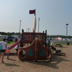 Playground at Lewes Ferry Terminal