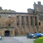 linlithgow palace-just along the high street from hotel