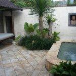 """Le jacuzzi privatif (villa""""luxe"""")"""