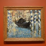 Manet's painting of the Venice Grand Canal