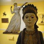 In the folk art display