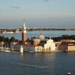 Venice evening sun set