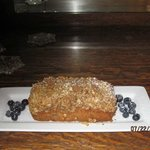 Windsong by the lake Signature Blueberry, Banana, Granola loaf
