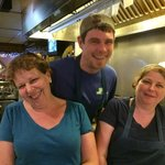 Bobby, Jami and Laurie are ready to cook for you!