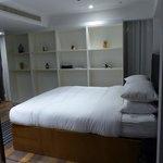 cama muy limpia y comodísima