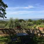 View from reception in direction of Siena