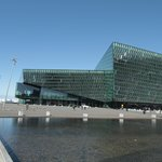 The Harpa from outside
