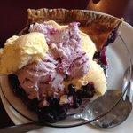 The best blueberry pie!