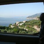 Vista desde el balcón...fabulosa