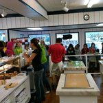 Store full of happy customers!