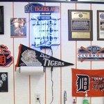 Tiger Fan Wall in Aaron Murdick's Store