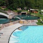 piscines d'eau salée