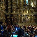 Detalhes do altar da igreja de São Francisco