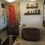 浴槽とシャワー