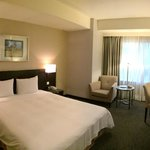 Spacious room assigned by the hotel. Clean and comfort
