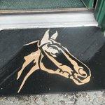 Horse themed doormat