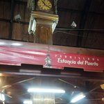 In the Mercado Del Puerto