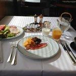 Breakfast at Mirandole