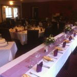 Another Brander Lodge Hotel Wedding set ups