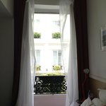 Вид из номера на соседний отель это же сети Astotel