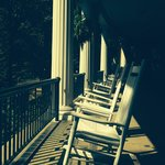 Restful porches