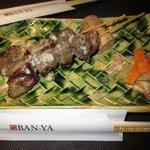 dinner at Banya