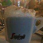 Good cappuccino too.