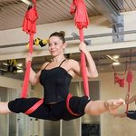 Laura Rapuzzi Anti Gravity Yoga at Garda Fitness Pilates