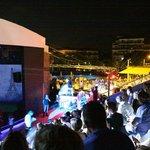 Wieczorne show w amfiteatrze