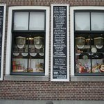 Little shop, the sell Dutch candy
