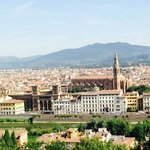 View above Florence.